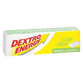 Dextro Energy Lemon Plus Vitamin C 14 Dextrose Tablets 47g