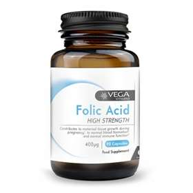 Vega Folic Acid 400&#956 90 caps