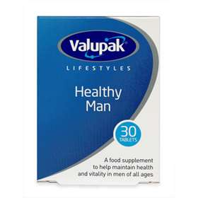Valupak Lifestyles Healthy Man 30 Tablets