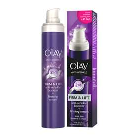 Olay 2 in 1 Firm & Lift Anti-Wrinkle Booster + Firming Serum 50ml