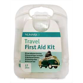 Numark Travel First Aid Kit 17 Pieces
