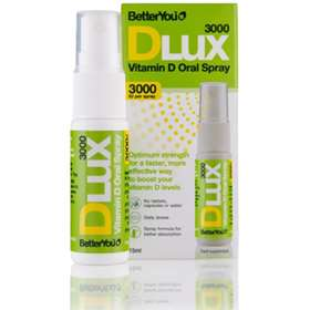 BetterYou Dlux 3000iu Vitamin D Oral Spray-15ml