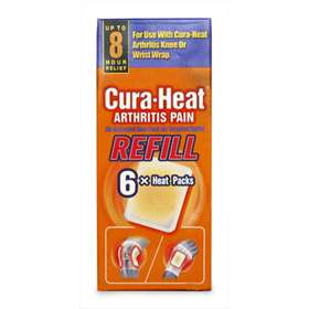 Cura-Heat Arthritis Pain Refill Heat Packs 6