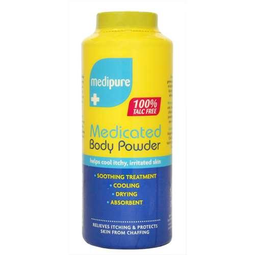 Vitamins & Supplements Medipure Medicated Body Powder 200g