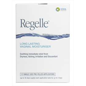 Regelle Long Lasting Vaginal Moisturiser Single Pre-filled Applicators 12