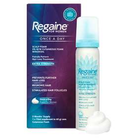 Regaine For Women Once A Day Scalp Foam 73ml