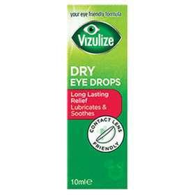 Vizulize Long Lasting Relief Dry Eye Drops 10ml
