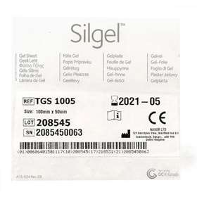 Silgel Gel Sheet 100mm x 50mm TGS 1005