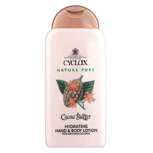 Cyclax Cocoa Butter Hydrating Hand and Body Lotion 300ml