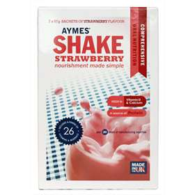 Aymes Shake Strawberry 7 x 57g Sachets