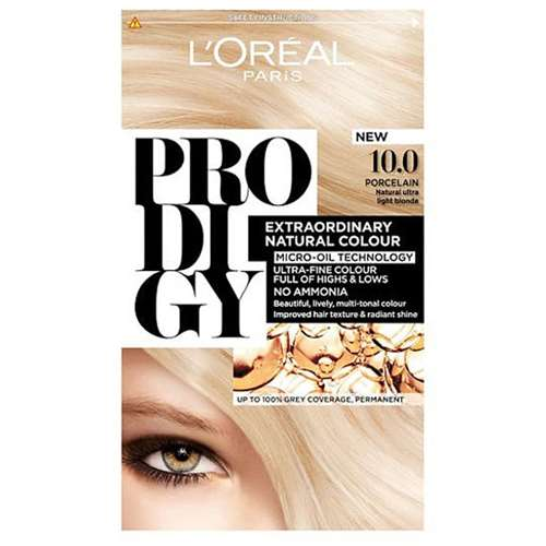 LOreal Prodigy porcelain 10.0 Hair Colour.