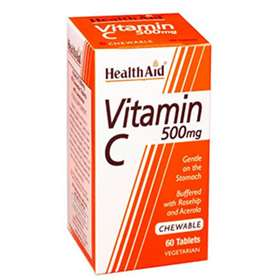 HealthAid Vitamin C 500mg 60 tablets