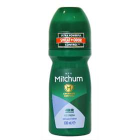 Mitchum Men Advanced Control Ice Fresh Roll On Anti-perspirant & Deodorant 100ml