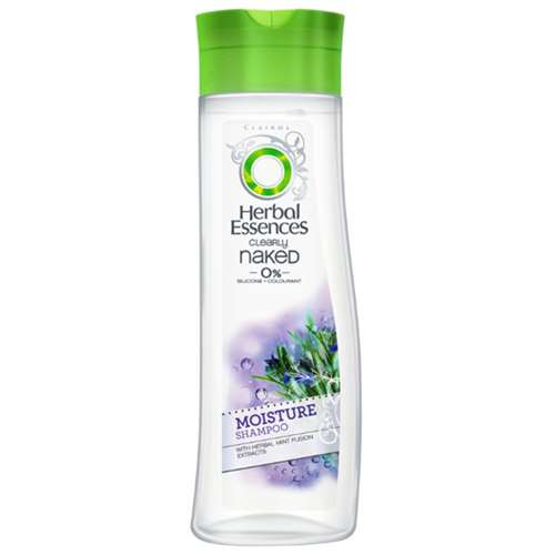 Herbal Essences Clearly Naked Moisture Shampoo With Herbal Mint Fusion Extracts
