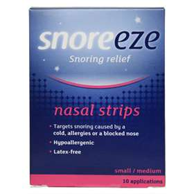 Snoreeze Snoring Relief Nasal Strips Small / Medium - 10 Applications