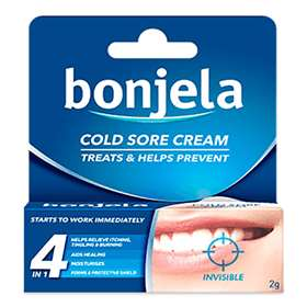 Bonjela Cold Sore Cream Invisible 2g