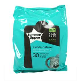 Tommee-Tippee Soother, Teat and Teether 30 Wipes
