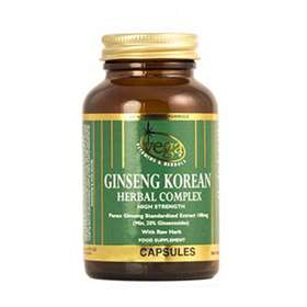 Vega Ginseng Korean Herbal Complex High Strength 60 Capsules