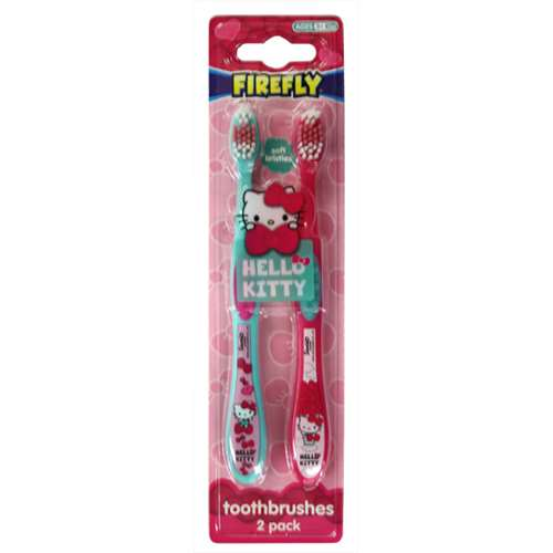 Hello Kitty Toothbrushes 2 Pack
