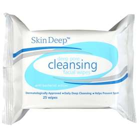 Skin Deep/Numark Deep Pore Facial Cleansing Wipes - 25 Wipes