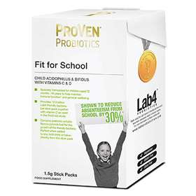 ProVen Probiotics Fit For School Child Acidophilus & Bifidus With Vitamin C & D - 28 x 1.5g Stick Packs