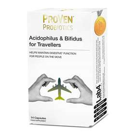 Proven Probiotics Acidophilus & Bifidus For Travellers - 14 Capsules