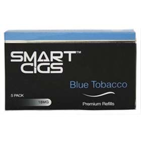 Smart Cigs Premium Refills Blue Tobacco 18MG  x 5