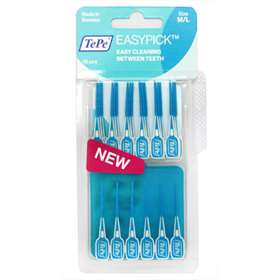 TePe EasyPick - Blue - Size Medium/Large - 36pcs