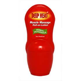 Deep Heat Muscle Massage Roll-on Lotion Herbal Fragrance 50ml