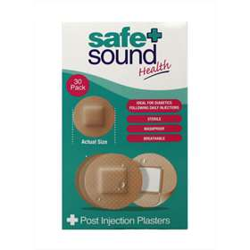 Safe and Sound Post Injection Plasters 30