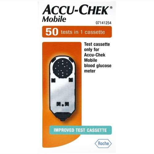Accu-Chek Mobile Blood Test 1 Casettes (50)