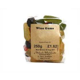 Michaels Wholefoods Wine Gums - 250g