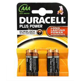 Duracell Plus Power AAA Batteries 4