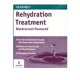 Numark Rehydration Treatment Blackcurrant