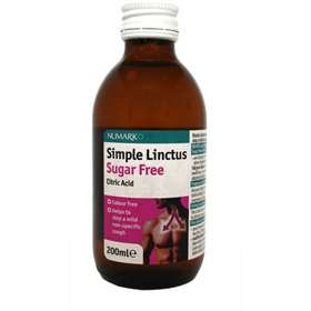 Numark Simple Linctus Sugar Free 200ml