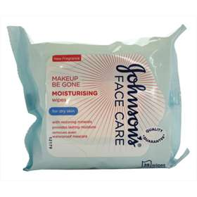 Johnsons Face Care Moisturising Wipes 25 Pack