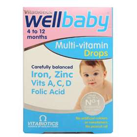 Vitabiotics Wellbaby Multi-Vitamin Drops (30ml)