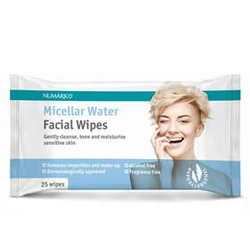 Numark Micellar Water Facial Wipes 25
