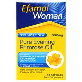 Efamol Woman Pure Evening Primrose Oil 500mg 90