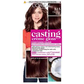 L'Oreal Casting Creme Gloss 515 Iced Chocolate was  Chocolate Truffle