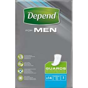 Depend For Men Guards Normal 14