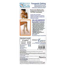 Derma Silk Therapeutic Knee-High Stockings