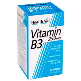 HealthAid Vitamin B3 250mg 90 Tables