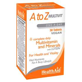HealthAid A to Z Multivit 30