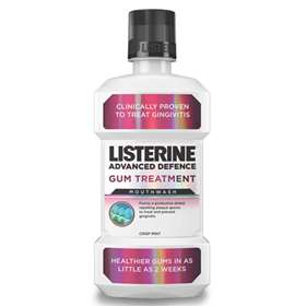 Listerine Advanced Defence Gum Treatment Mouthwash 500ml