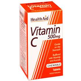 HealthAid Vitamin C 500mg 100 Tablets