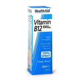 HealthAid Vitamin B12 Oral Spray 1000µg 20ml
