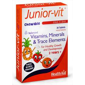 HealthAid Junior-vit 30 Chewable Tablets