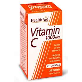 HealthAid Vitamin C 1000mg 30 Tablets