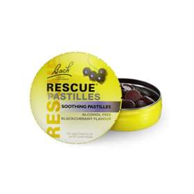 Bach Rescue Pastilles Blackcurrant 50g